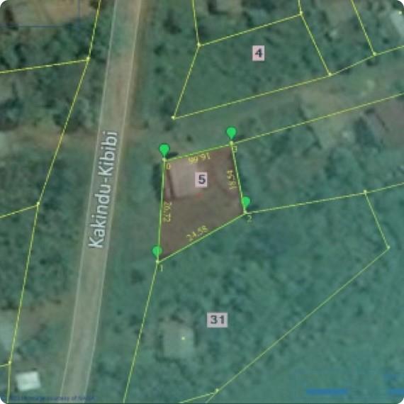 Kakindu kibibi Location
